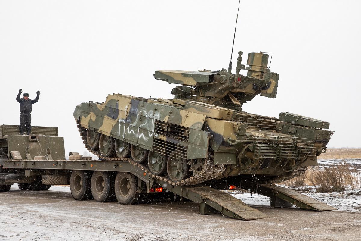 Російська армія отримала бойові машини підтримки танків