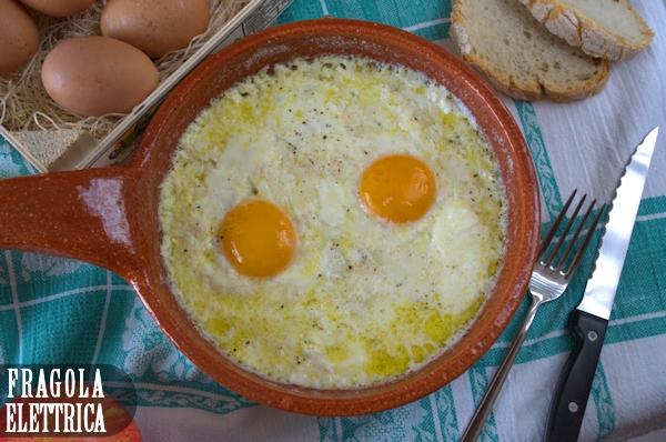 Uova con Provola