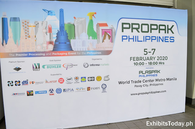 Propak Philippines 2020 wall panel