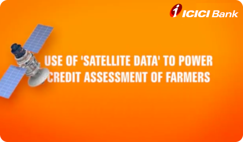 ICICI Bank uses satellite images