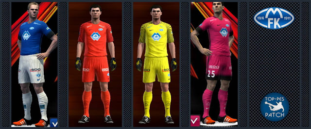 PES 2013 Molde FK Kit Season 2016-2017