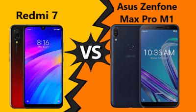 Spesifikasi Redmi 7 vs Asus Zenfone Max Pro M1