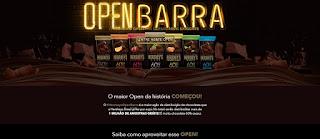 Promoção Hershey's 2020 Open Barra 1 Milhão Chocolates Grátis Amostras