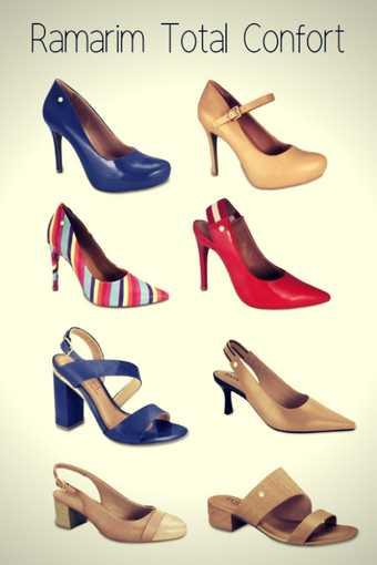Marca de Calçados Confortáveis Femininos Ramarim Total Confort