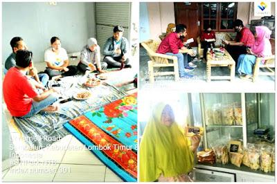 VERIFIKASI: STIPark melaksanakan kegiatan pendataan dan verifikasi IKM di Lombok Timur
