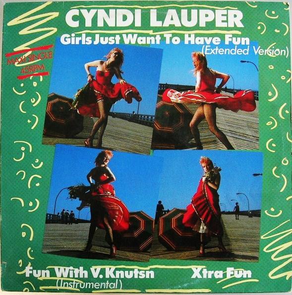 EL CLUB DE TOBI: Girls Just Want To Have Fun. - Cyndi Lauper.
