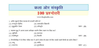 Art and Culture Objective Questions in Hindi