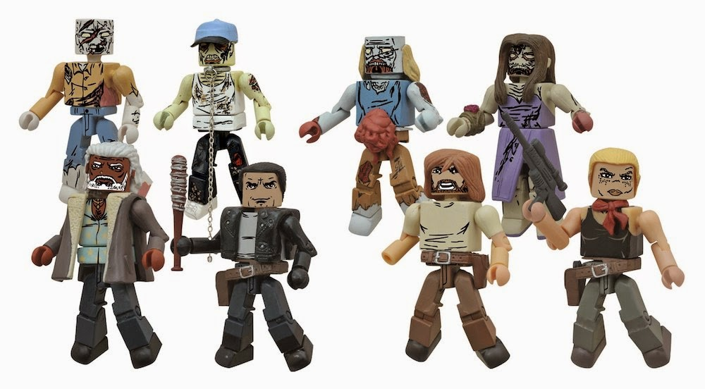 The Walking Dead Minimates serie 7