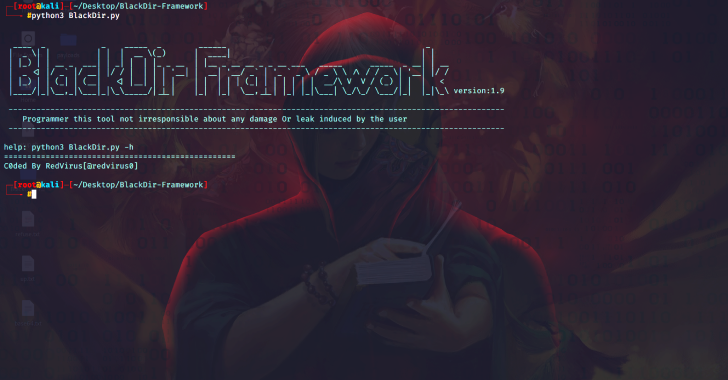 BlackDir Framework : Web Application Vulnerability Scanner