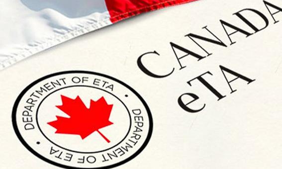 eTA para viajar a Canada