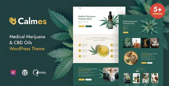 Best Medical Marijuana and Coffee shop WordPress Theme