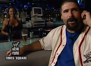 WWE / WWF King of the Ring 2000 - Mick Foley completely ignored Ivory at WWF New York