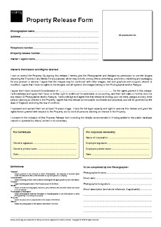 L Rundle Photography: Model Release form