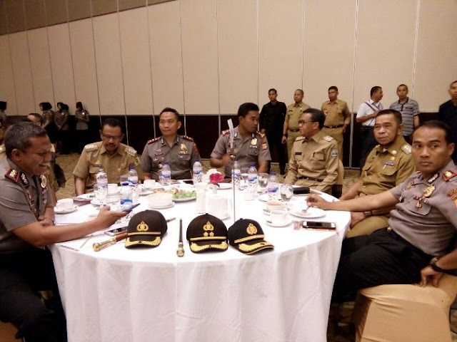 Wabup Kep.Selayar Teken MoU, Pembinaan Calon Anggota Polisi