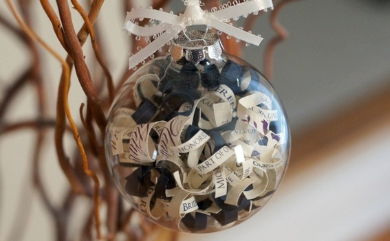 Charming And Fun Wedding Invitation Ornaments