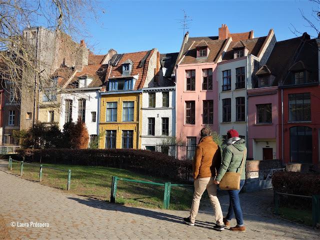 Vieux-Lille: bairro pitoresco e super charmoso de Lille, norte da França.