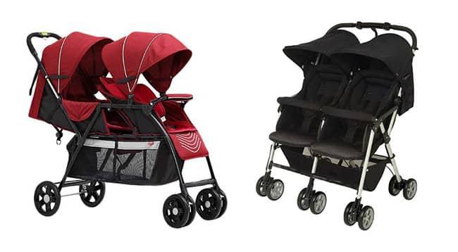 double stroller yang cocok untuk anak kembar