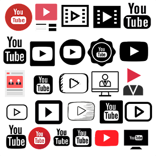 Icon Youtube Logo vector (.cdr) Free Download