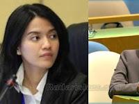 """Diplomat Cantik ini """"Hajar Balik"""" 6 Pimpinan Negara Yang Kritik Indonesia di Sidang PBB"""