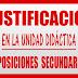 JUSTIFICACIÓN UNIDAD DIDÁCTICA OPOSICIONES SECUNDARIA 2019 y 2020