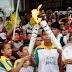 Tocha olímpica Rio 2016 passa por ruas e avenidas de Parnaíba