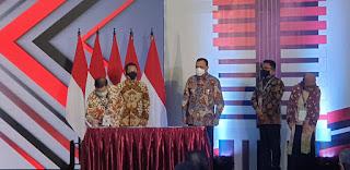 Menteri PPN Sampaikan Keberhasilan Stranas PK Dalam Acara Hari Anti Korupsi Sedunia.