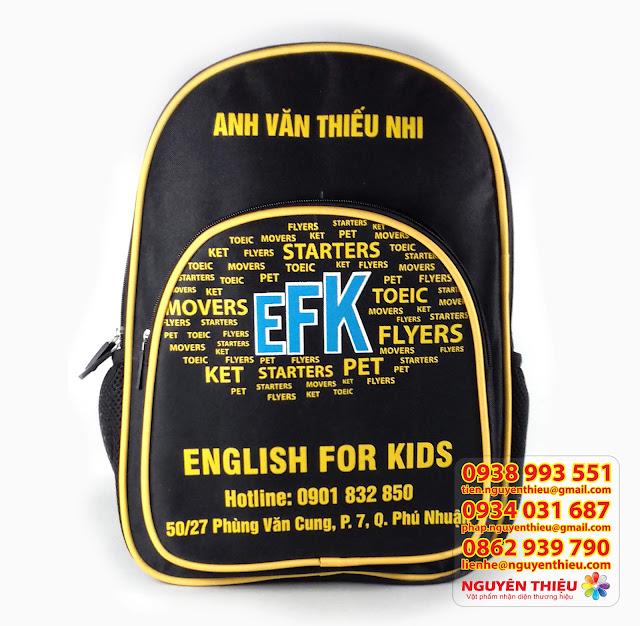 Balo trẻ em giá rẻ, mua balo trẻ em ở tphcm, địa chỉ may balo trẻ em giá rẻ tphcm
