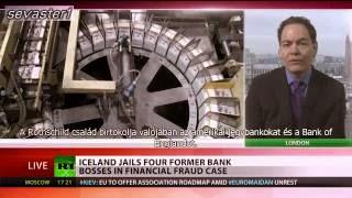 Izland bankárokat csuk börtönbe