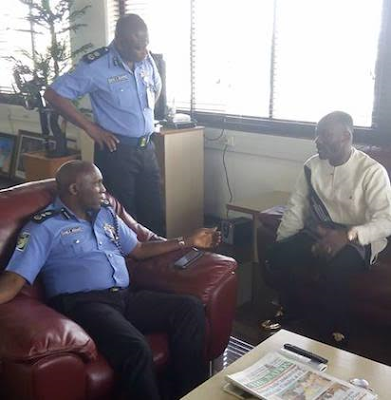 Apostle Suleman spotted at Police Headquarters after Stephanie Otobo Filed A $5m Lawsuit(PHOTOS)