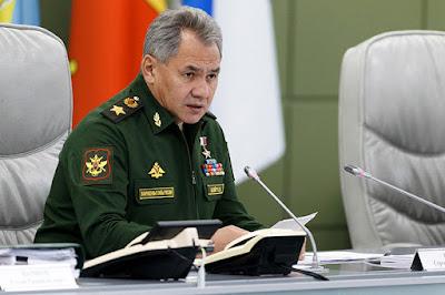 Serguéi Shoigú, ministro de Defensa de Rusia.Sputnik