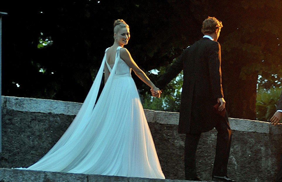 Borromeo wedding beatrice Beatrice Borromeo's