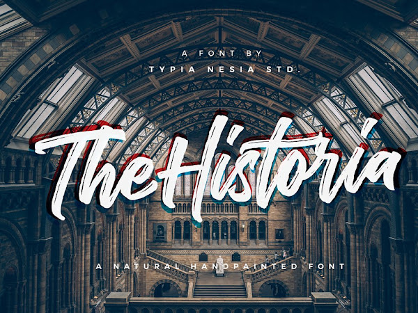 The Historia Urban Brush Script Font Free Download