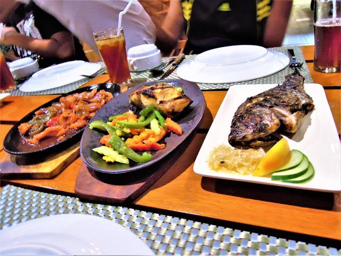 Sizzling seafood at Anilao Beach Club