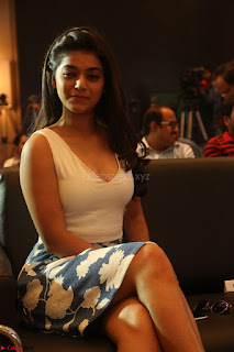 Yamini in Short Mini Skirt and Crop Sleeveless White Top 056.JPG