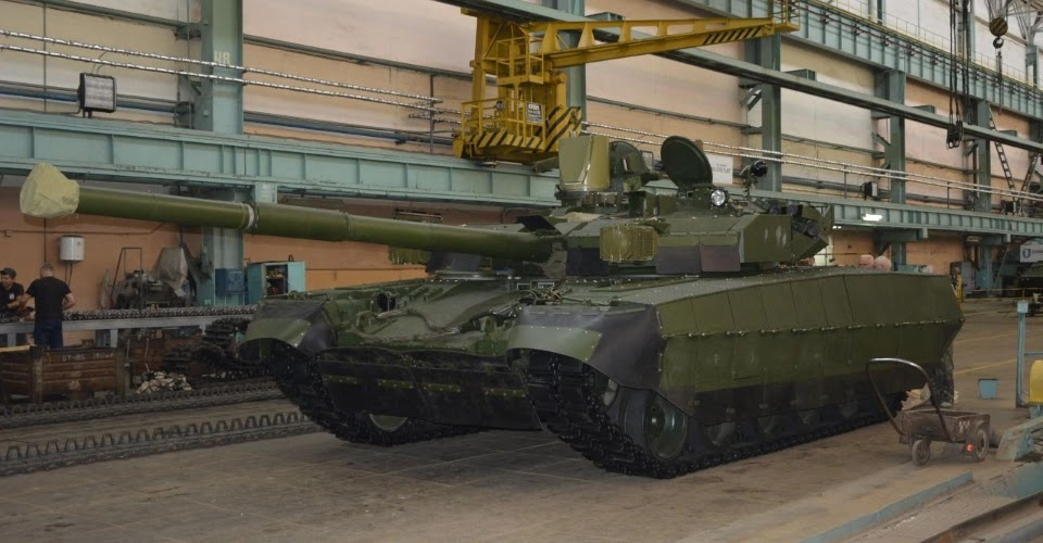 Malyshev Plant releases Oplot tank ordered by Ukrspetsexport