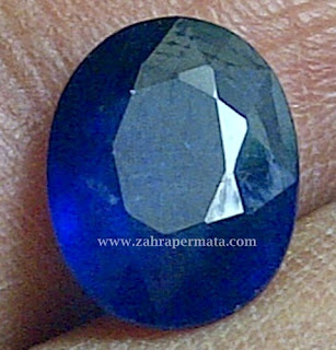 Batu Permata Royal Blue Saphire - ZP 278