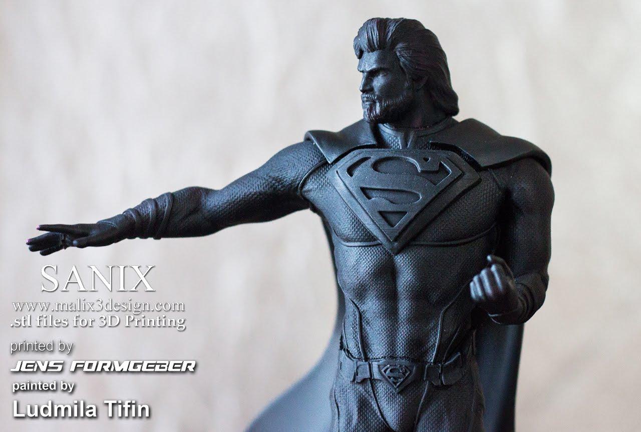 Superman - 3D Printable Model
