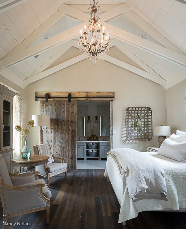 Sherwin Williams Accessible Beige walls in bedroom