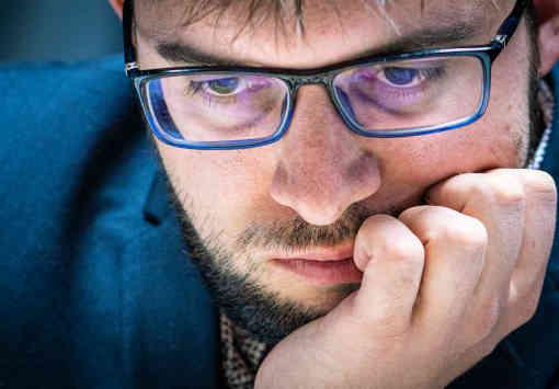 Le joueur d'échecs français Maxime Vachier-Lagrave au Norway Chess 2019 - Photo © Lennart Ootes