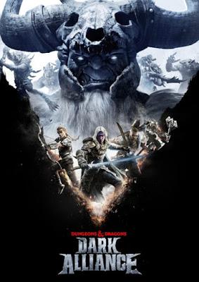 Capa do Dungeons and Dragons: Dark Alliance
