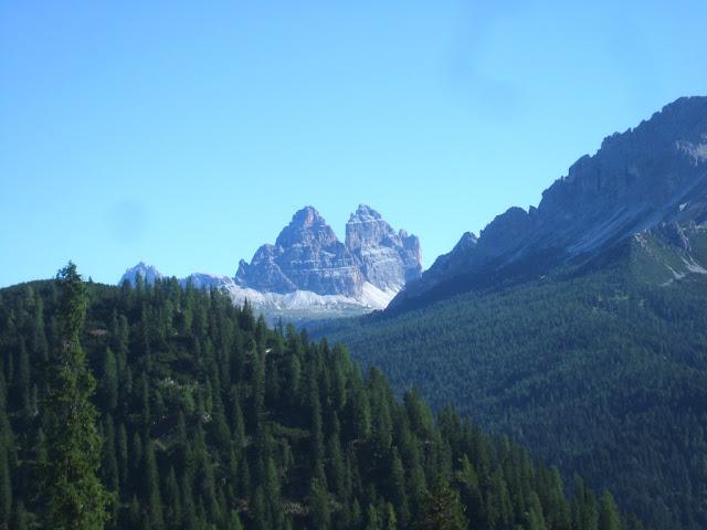 Verso Lago Sorapiss e Rifugio Vandelli - sentiero 215 - Tre cime di Lavaredo