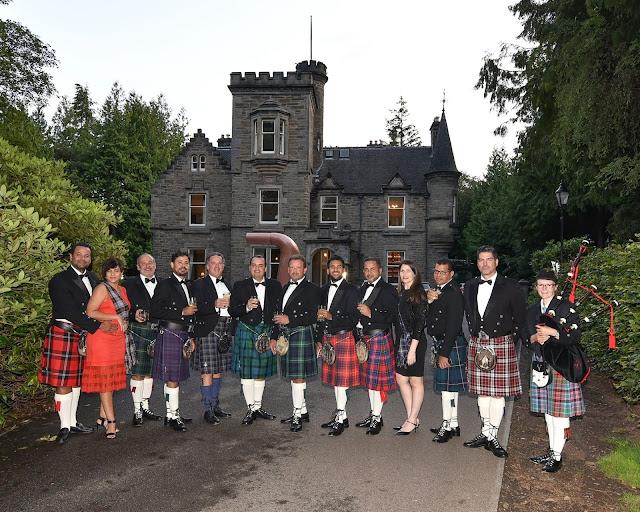 Fiesta tradicional de Escocia.