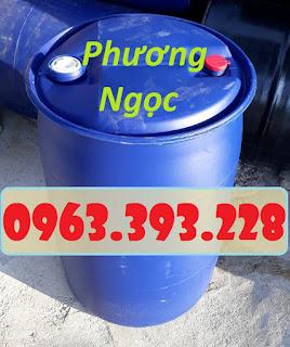 Thùng phuy nhựa 2 nắp nhỏ, phuy nhựa đã qua sử dụng, phuy nhựa làm bè 8cacc1ad9773712d2862