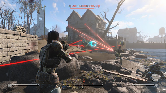 Review – Fallout 4, Automatron battle
