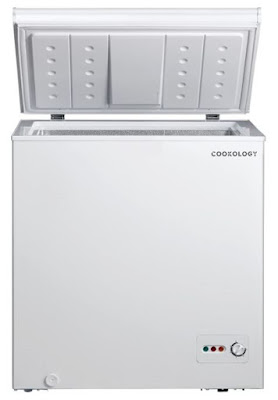 Cookology CCF142WH White Outbuilding Chest Freezer