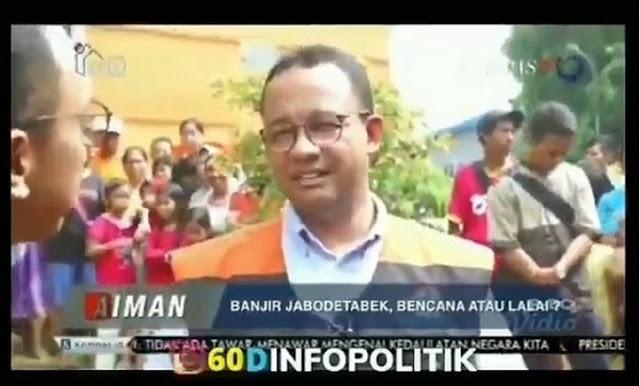 Menurut mantan Sekretaris Kementerian BUMN Muhammad Said Didu, ada 5 kegagalan Gubernur DKI Jakarta Anies Baswedan tangani banjir.