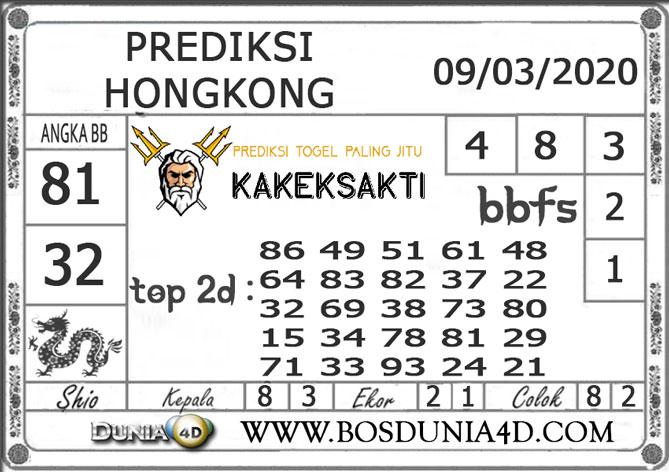 Prediksi Togel HONGKONG DUNIA4D 09 MARET 2020