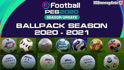 PES 2020 Ball-Server Pack V13 AIO by Hawke [ 280+ Balls ]