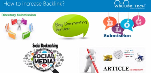 Directory Submission Social Bookmarking Commenting Article Submission Dofollow Gov Edu Backlink Site List