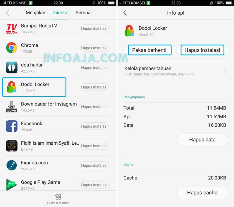 Menghapus Aplikasi Android Yang Susah Dihapus